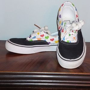 Vans Kids sneakers w/ 🌈 💕 size 12